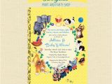 Baby Shower Invitations Storybook theme Storybook Baby Shower Invites