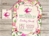Baby Shower Invitations Tea Party theme Baby Shower Tea Party Shower Invitations Party Download