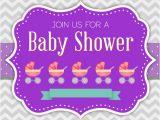 Baby Shower Invitations Vector Baby Shower Invitation Vector