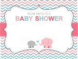 Baby Shower Invitations Vector Elephant Baby Shower Invitation Stock Vector Art