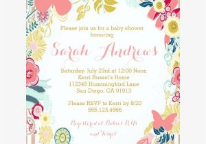 Baby Shower Invitations with butterflies butterfly Invitation Templates 10 Free Psd Vector Ai