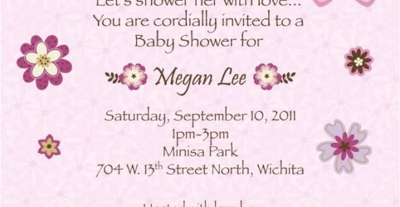 Baby Shower Invitations with butterflies How to Create butterfly Baby Shower Invitations Templates
