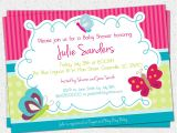 Baby Shower Invitations with butterflies Printable butterfly Baby Shower Invitation butterflies