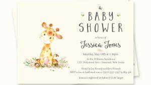 Baby Shower Invitations with Giraffes Giraffe Baby Shower Invitations Giraffe Baby Shower