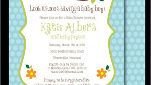 Baby Shower Invitations with Owl theme Baby Shower Invitations Owl theme
