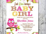 Baby Shower Invitations with Owl theme Owl Baby Shower Invitations Baby Shower by Bigdayinvitations