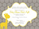 Baby Shower Invitations with Photo Template Baby Shower Invitation Free Baby Shower Invitation