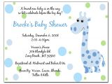 Baby Shower Invitations Wording Invitation Baby Boy Quotes Quotesgram