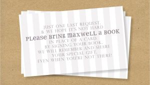 Baby Shower Invite Wording Bring A Book Baby Shower Bring A Book Insert Vintage Baby by Henandco
