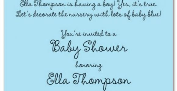 Baby Shower Invite Wording for Boy Oh Boy Script Invitations Myexpression 17344
