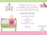 Baby Shower Invites Girl Baby Shower Invitations for Girls Baby Shower