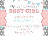 Baby Shower Invites Girl Baby Shower Invites for Girl