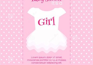 Baby Shower Invites Girl Girl Baby Shower Invitations Templates