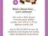 Baby Shower Invites Wording Samples Baby Shower Invitations Wording