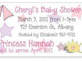 Baby Shower Magnet Invitations Princess theme Baby Shower Invitation Magnets and Cards
