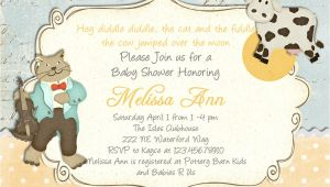 Baby Shower Rhyme Invite Baby Shower Invite Rhymes