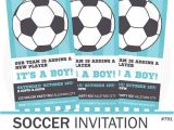 Baby Shower soccer Invitations soccer Baby Shower Invitation soccer Invitation by