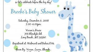 Baby Shower Verbiage Invites Invitation Baby Boy Quotes Quotesgram