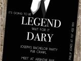 Bachelor Party Invite Sayings Bachelor Party Invite Legendary Himym