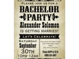 Bachelor Party Invite Sayings Vintage Country Bachelor Party Invitation