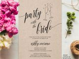 Bachelorette Party Invitation Template Bachelorette Party Invitation Template Printable Invitation