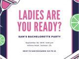 Bachelorette Party Invitation Template Bachelorette Party Invitation Templates Canva