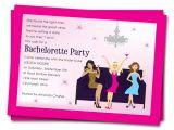 Bachelorette Party Invite Wording Bachelorette Party Invitation Wording