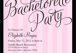 Bachelorette Party Invite Wording Bachelorette Party Invitations Templates – Gangcraft