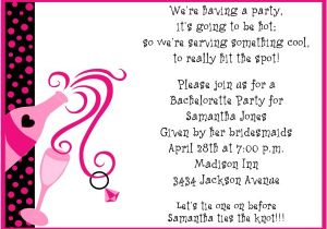 Bachelorette Party Invite Wording Party Invitations Bachelorette Party Invitation Wording