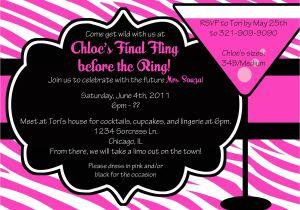 Bachelorette Party Invite Wording Party Invitations Easy Bachelorette Party Invitation