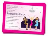 Bachelorette Party Invites Wording Printable Bachelorette Party Invitations Girls by