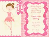 Ballerina Birthday Invitations Free Chandeliers & Pendant Lights