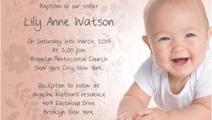Baptism and Birthday Invitation Wordings Baptism Invitation Wording Samples Wordings and Messages