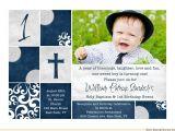 Baptism and First Birthday Invitation Wording Christening Invitations Baptism Cards Dedication