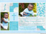 Baptism and First Birthday Invitation Wording First Birthday and Baptism Invitations
