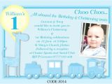 Baptism and First Birthday Invitations First Birthday and Baptism Invitations