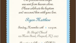 Baptism Invitation Wording Baby Christening Quotes and Sayings Quotesgram