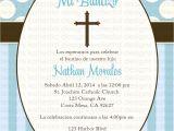 Baptism Invitations In Spanish Wording Baptism Invitation Baptism Invitations In Spanish New