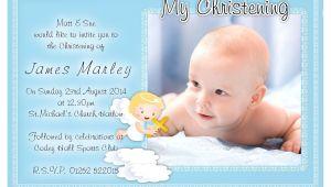 Baptism Invitations Postcard Style Free Christening Invitation Template