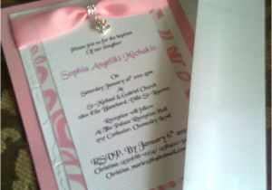 Baptism Invite Ideas Baptism Invitation 2