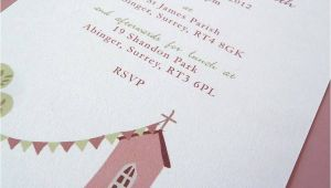 Baptism Invites Uk Personalised Christening or Baptism Invitations by Molly