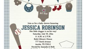 Baseball themed Baby Shower Invites Baseball themed Baby Shower Invitations