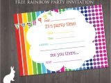 Basic Birthday Party Invitations Green Color Background Party Invitation Templates with