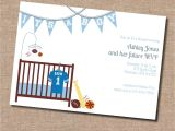Basketball themed Baby Shower Invitations Baby Shower Sports theme Invitations