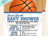Basketball themed Baby Shower Invitations Save This Pin Basketball Baby Shower Invitations Wording
