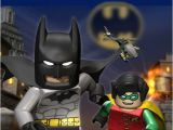 Batman and Robin Birthday Invitations Lego Batman and Robin Birthday Invitation Digital File