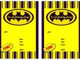 Batman Birthday Invites Free Printables 9 Awesome Batman Birthday Invitations