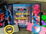 Batman Vs Superman Party Invitations Batman Vs Superman Birthday Invitations