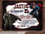Batman Vs Superman Party Invitations Batman Vs Superman Invitation Batman Vs by Holidayprintdesign