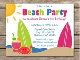 Beach Party Invitation Template 22 Beautiful Beach Party Invitation Designs Psd Eps